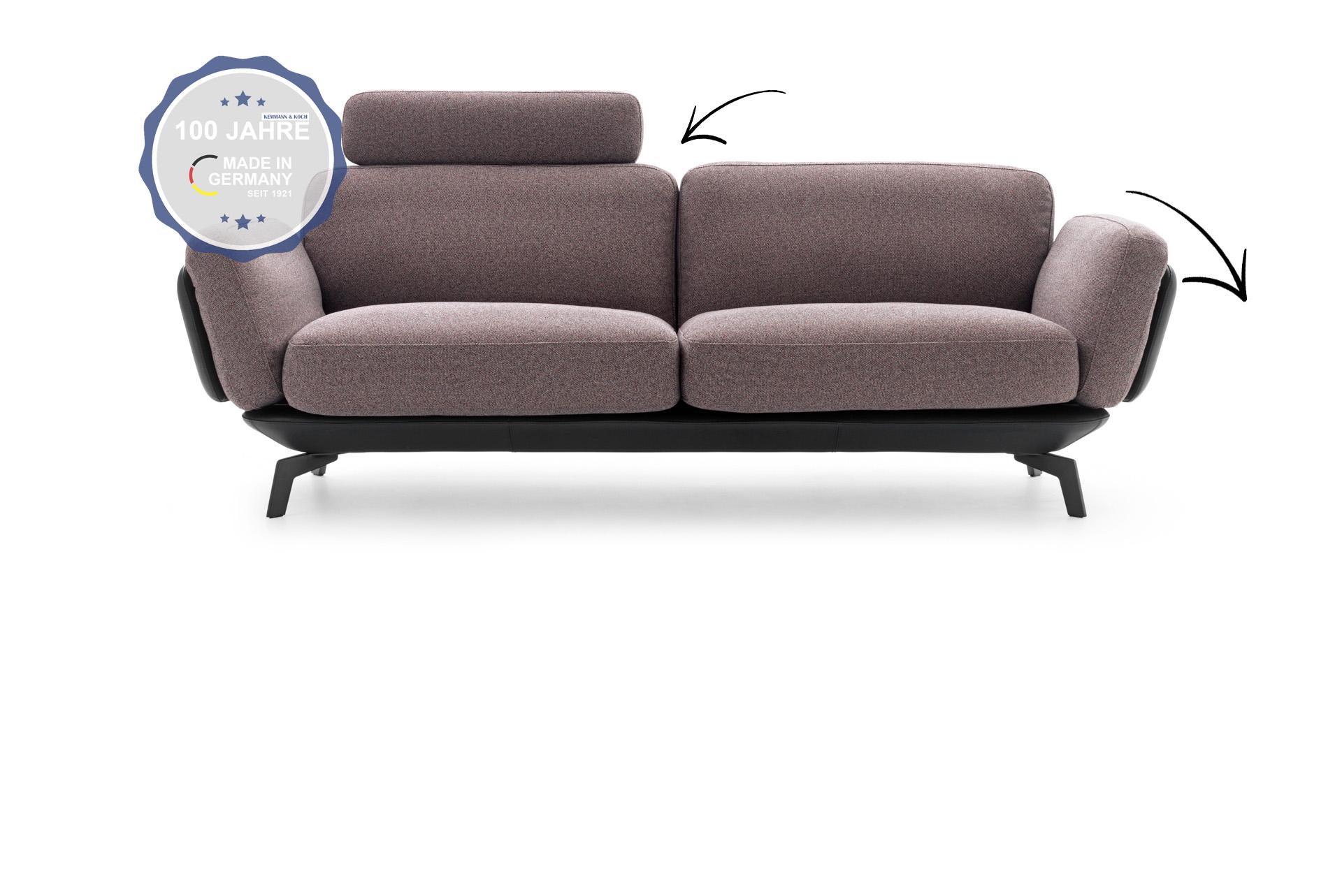 Polstergelenke in Sofa verbaut