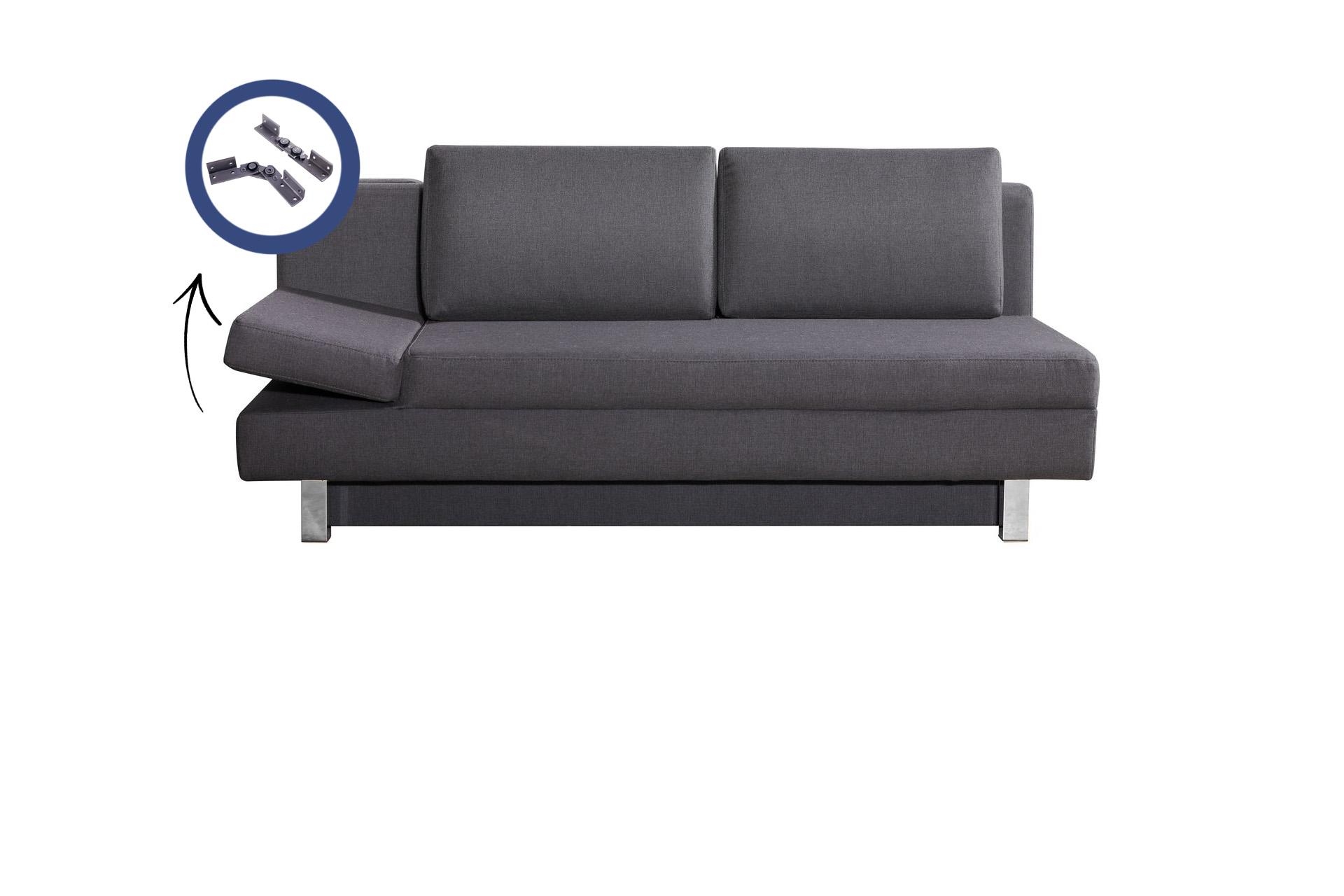 Polstergelenke in Couch verbaut